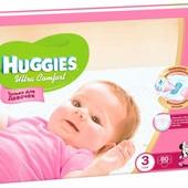 Подгузники Huggies Ultra Comfort 3, 4, 4+,5