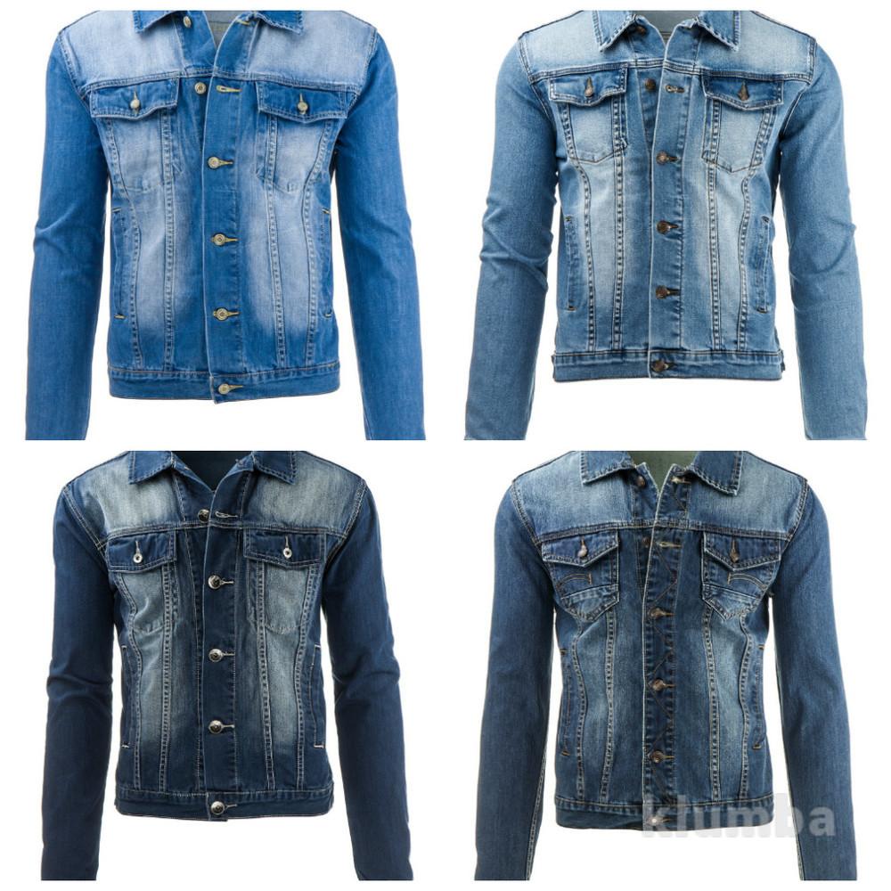 Мужская джинсовая куртка фото №1