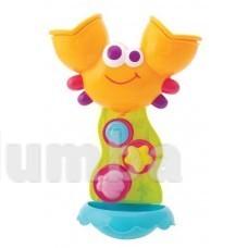 Расродажа -  Водяное колесо Краб  игрушка для игр в воде на присосках от Bebelino фото №1