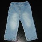 удобнейшие джинсы-узкачи George 6-9 мес (до 12 отлично) пояс на резинке состояние новых