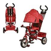 Детский трехколесный велосипед 5361-5