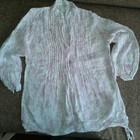 очень нежная льняная блуза