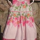 Яркие брендовые платья сарафаны от 9 до 18 мес.