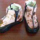 Модные деми Ботинки, ботиночки, мех пони