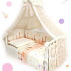 Постельное в кроватку для новорожденных Twins Comfort Жирафы