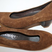 37 разм Фирменные туфли Footnotes. Замша