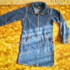 Стильное джинсовое платье на 6 лет ( 116-122)