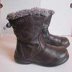 Практически новые! демисезонные сапоги ботинки  Clarks с мембраной Gore-Tex 23-24р. 15. 5