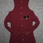 Теплый свитер с начесом на 4-5год
