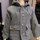 Детское пальтишко с капюшоном для мальчика  2 - 3 года