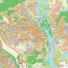 СП Карта Киева ( план міста) с 2-х половинок