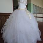 Распродажа ! Свадебное новое платье 50-52р.р.W-604