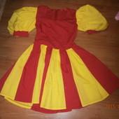 Новое платье на 9-12 лет