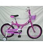 Велосипед двухколесный с корзинкой Фуксия, 14 дюймов