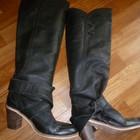 Винтажные кожаные сапоги Ted Baker 26 см 41