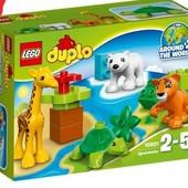 Lego  Duplo конструктор Уточки