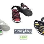 Босоножки летние туфли с антибактериальной защитой, бренд LandsEnd Америка