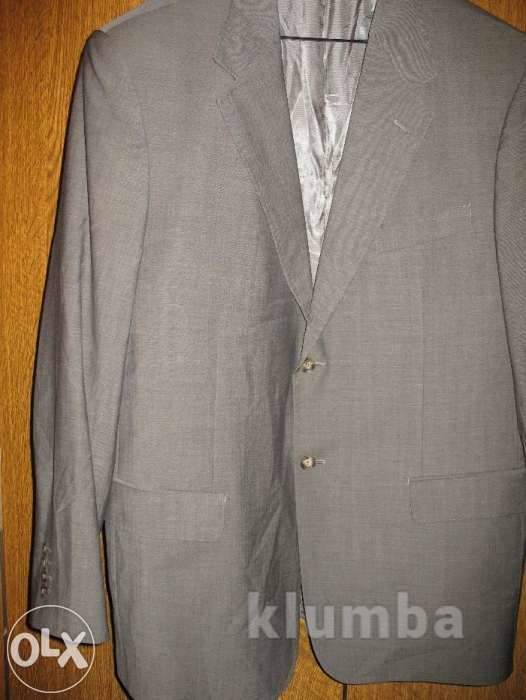 Пиджак  шерстяной,р.58-60,бежевый,pieere cardin фото №1
