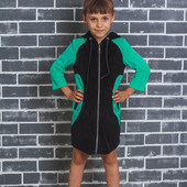 Детский велюровый халат 01301 (3 цвета)