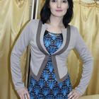 Пиджак трикотажный, размер 46, разные цвета, распродажа