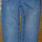 Next некст джинсы для девочки летние с вышивками 4 - 5 лет 110 см