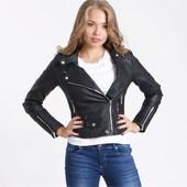 Женская демисезонная куртка из эко-кожи ,куртка косуха