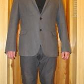 Хит сезона - серый льняной пиджак Cinque Германия - Италия. 50 р.