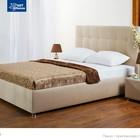 """Новая, современная, красивая и недорогая кровать """"Лугано"""" (с матрасом и нишей для белья)"""
