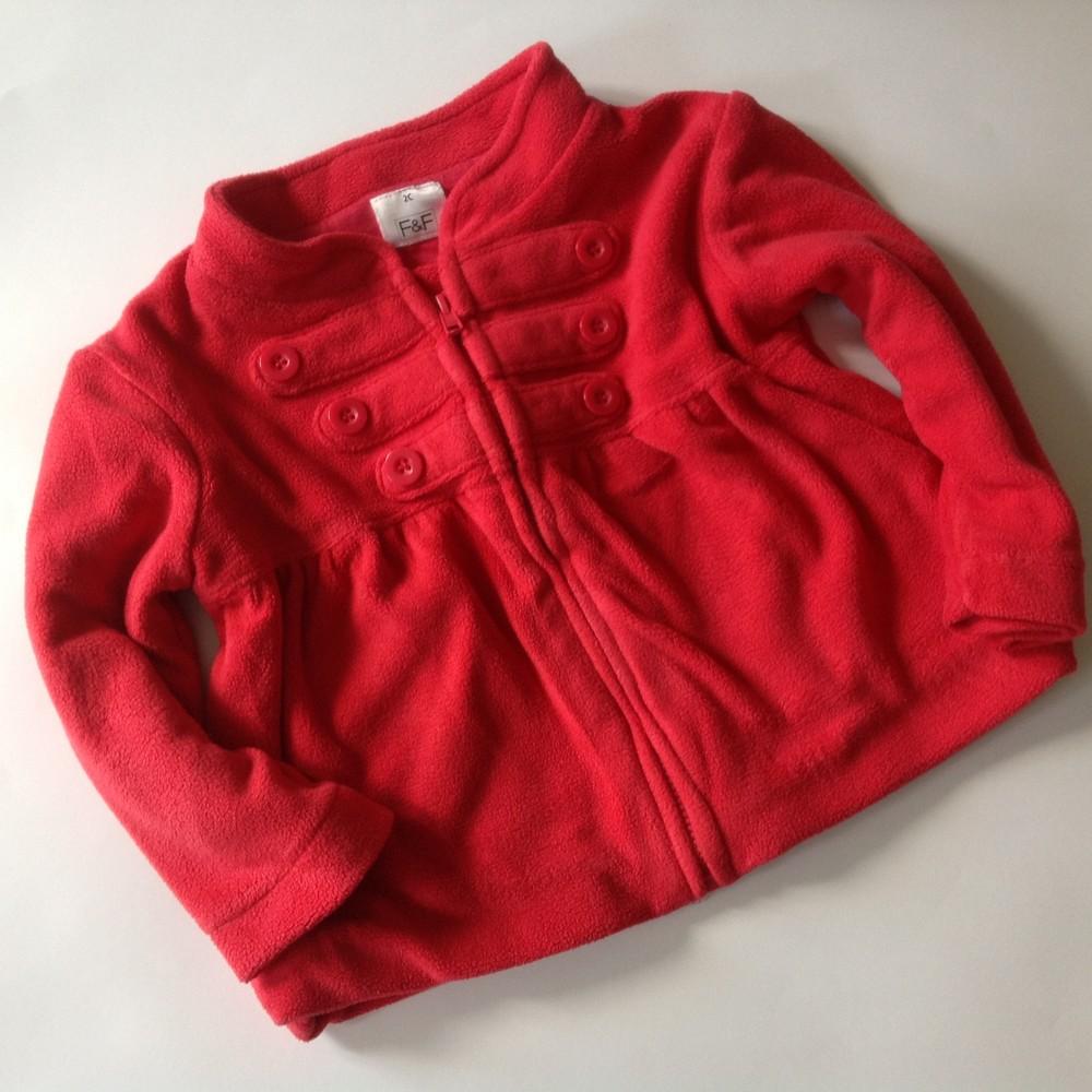 стильный флисовый пиджачок фото №1
