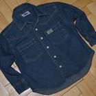 1 - 2 года 92 см Фирменная рубашечка рубашка джинсовая мальчику