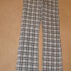 Плотные клетчатые джинсы Loft. 29/32
