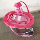Детский шезлонг качалка Baby Tilly 0002  розовый