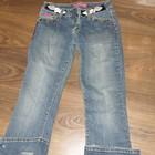 Классные джинсы с красивой вышивкой!Размер S