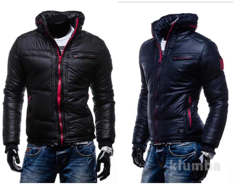 Мужская зимняя стеганная куртка Extreme фото №1