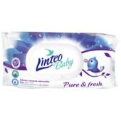 Детские влажные салфетки Linteo baby 80 шт. Линтео