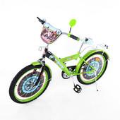 Детский двухколесный велосипед мультгерои 20