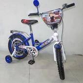 Детский двухколесный велосипед мультгерои 16