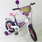 Детский двухколесный велосипед мультгерои 14