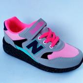 Стильные качественные кроссовки для девочки бренда TomWins (Турция), р. 31-35,  код товара - 062