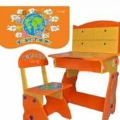 Детская регулируемая стол-парта В мире животных