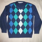 Котоновый легкий свитер реглан джемпер НМ 4-6 лет