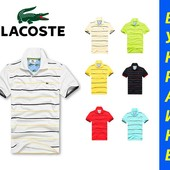 Мужская тенниска Lacoste рубашка поло ХИТ #ф37