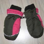 Зимние рукавицы краги на 3-5 лет