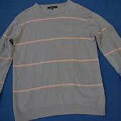 Хлопковый мужской легенький свитерок