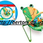 Детский шезлонг-качалка Лягушонок 8610