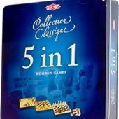 Tactic Набор игр 5 в 1 (14006)
