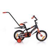 Азимут Стич 12 14 с родительской ручкой велосипед двухколёсный Azimut Stitch