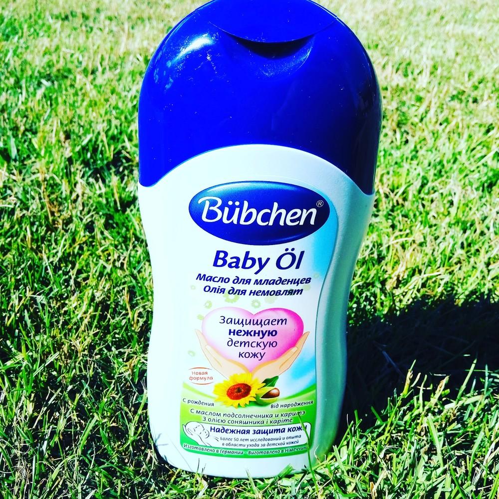 Масло для младенцев  400 мл B 200мл. Bubchen фото №1