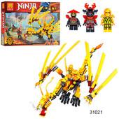 Леле Ниндзя 31021 Золотой дракон конструктор Lele Ninja нинзяго