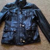 Куртка пиджак  кожаная